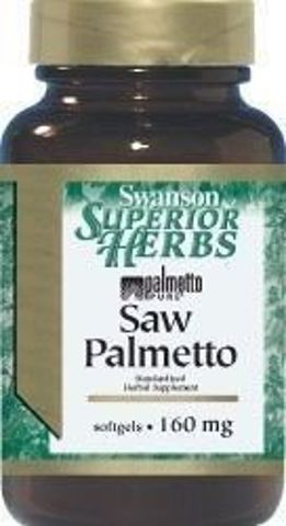 SWANSON Saw Palmetto extract 160mg x 120 kapsułek