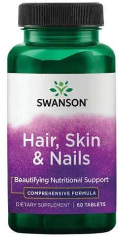 SWANSON Włosy Skóra Paznokcie x 60 tabletek