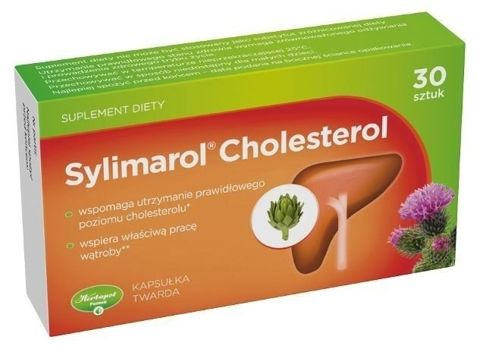 SYLIMAROL Cholesterol x 30 kapsułek