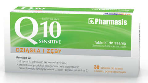 Sensilab Q10 Sensitive x 30 tabletek do ssania