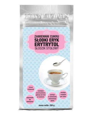 Słodki Eryk erytrytol (erytrol) słodzik stołowy 250g