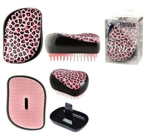TANGLE TEEZER Compact Styler Pink Kitty szczotka do włosów