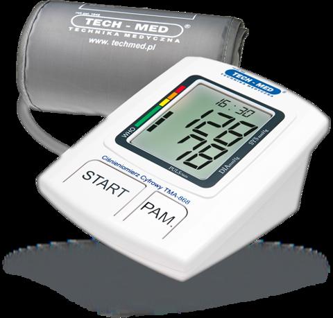 TECH-MED TMA-868 Ciśnieniomierz automatyczny 1szt.