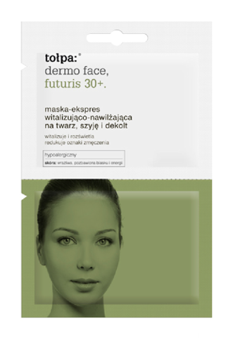 TOŁPA DERMO FACE FUTURIS 30+ Maska-Ekspres 2x6ml