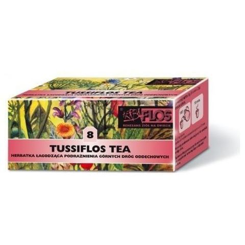 TUSSIFLOS TEA 8 Fix 2g x 25 saszetek