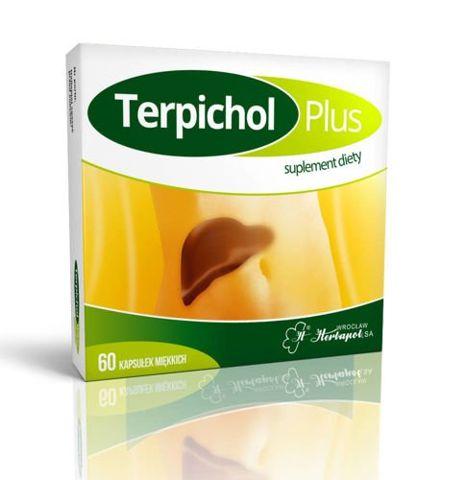 Terpichol Plus x 60 kapsułek