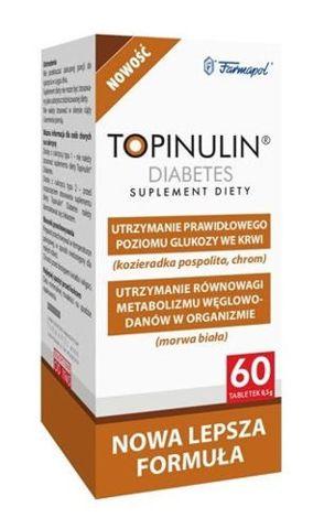 Topinulin Diabetes x 60 tabletek