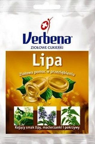 VERBENA Lipa Cukierki ziołowe 60g