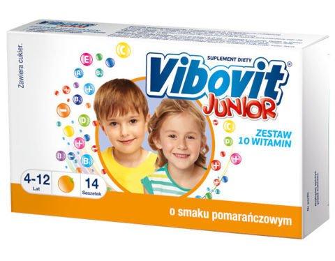VIBOVIT Junior x 15 saszetek - pomarańczowy