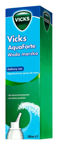 VICKS AQUAFORTE Spray do nosa 100ml