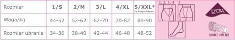 Veera Rajstopy przeciwżylakowe 70 DEN kolor naturalny rozmiar 4 x 1 sztuka