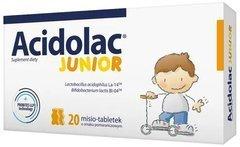 ACIDOLAC Junior x 20 misio-tabletek smak pomarańczowy
