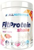 ALLNUTRITION FitProtein Shake strawberry 500g - data ważności 30-06-2019
