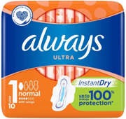 ALWAYS ULTRA NORMAL PLUS Podpaski x 10 szt.