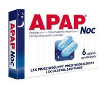APAP Noc x 6 tabletek