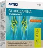 APTEO Glukozamina z witaminą C x 30 tabletek musujących - data ważności 30-11-2019