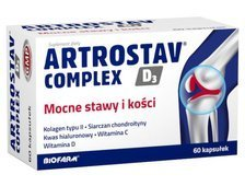 Artrostav Complex x 60 kapsułek - data ważności 31-03-2019r.