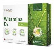 Biovitum Liquid Witamina D3 x 60 kapsułek roślinnych