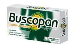 Buscopan 0,01g x 10 tabletek