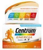 CENTRUM Energia x 30 tabletek - data ważności 31-05-2019r.