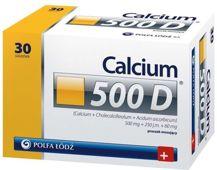 Calcium 500 D proszek musujący x 30 saszetek