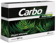 Carbo Activ Vita x 20 kapsułek