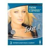 Caress Joker II Prezerwatywy prążkowane x 3 sztuki