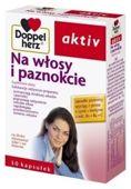 DOPPELHERZ Aktiv Na Włosy i Paznokcie x 30 kaps.