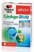 DOPPELHERZ Ginkgo Duo x 60 kapsułek