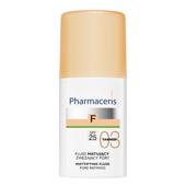 ERIS Pharmaceris F Fluid matujący zwężający pory SPF25 03 Tanned 30ml