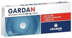 Gardan 500mg x 10 tabletek