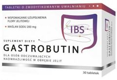Gastrobutin IBS x 30 tabletek