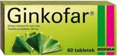 Ginkofar x 60 tabletek