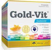 Gold-Vit Junior x 15 saszetek pomarańczowych