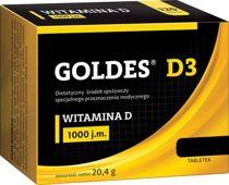 Goldes D3 1000 j.m. x 60 tabletek