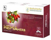 Hemaherb x 30 kapsułek - data ważności 30-09-2019