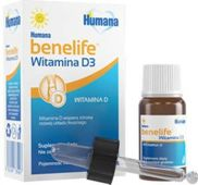 Humana Benelife Witamina D3 5ml