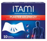 ITAMI Plastry lecznicze 140mg x 10 sztuk