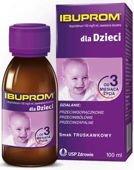 Ibuprom 100 mg/5 ml zawiesina o smaku truskawkowym 100ml