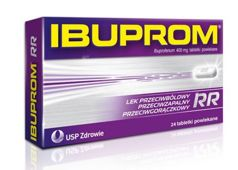 Ibuprom RR x 24 tableteki