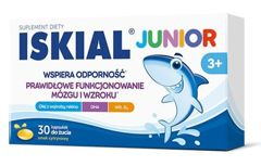 Iskial Junior x 30 kapsułek do żucia