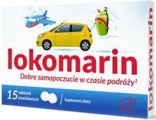 Lokomarin x 15 tabletek