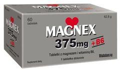 MAGNEX 375mg+B6 x 60 tabletek