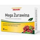 MEGA ZURAWINA x 30 tabletek