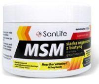 MSM Siarka organiczna z biotyną smak grapefruitowy 115,5g