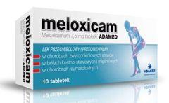 Meloxicam Adamed 7,5mg x 10 tabletek