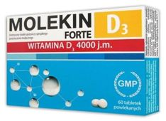 Molekin D3 Forte x 60 tabletek