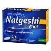 NALGESIN MINI 220mg x 20 tabletek powlekanych