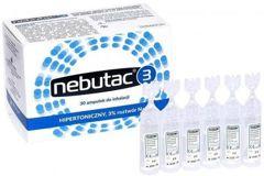 Nebutac 3 hipertoniczny 3% roztwór NaCl do inhalacji x 30 ampułek