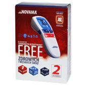 Novama Free Błyskawiczny termometr bezdotykowy x 1 sztuka